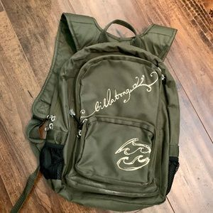 Gently Used- billabong Mini backpack
